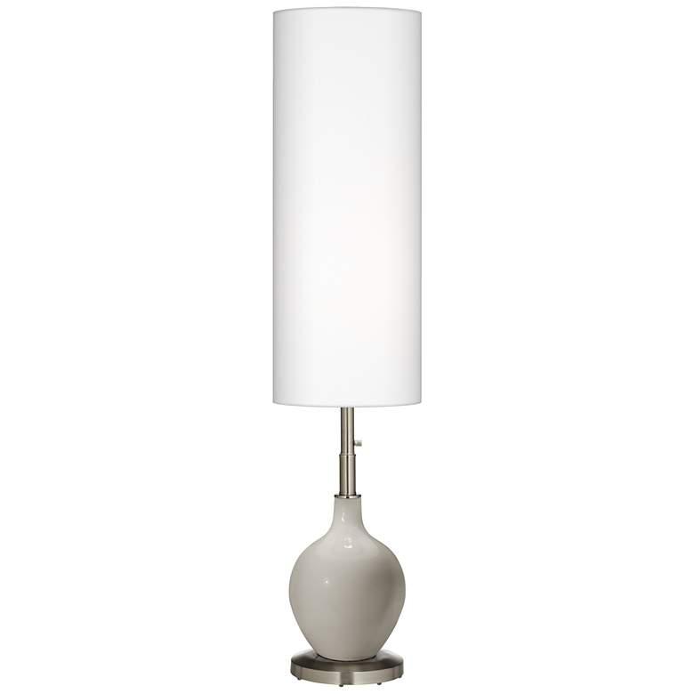 Requisite Gray Ovo Floor Lamp
