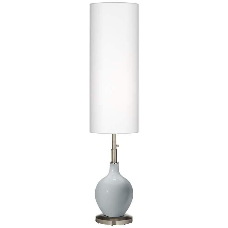 Uncertain Gray Ovo Floor Lamp