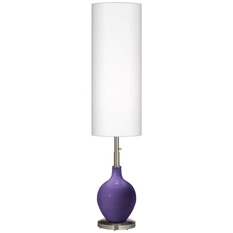 Izmir Purple Ovo Floor Lamp