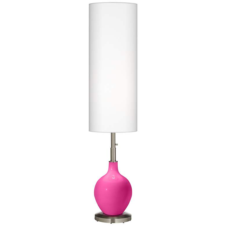 Fuchsia Ovo Floor Lamp