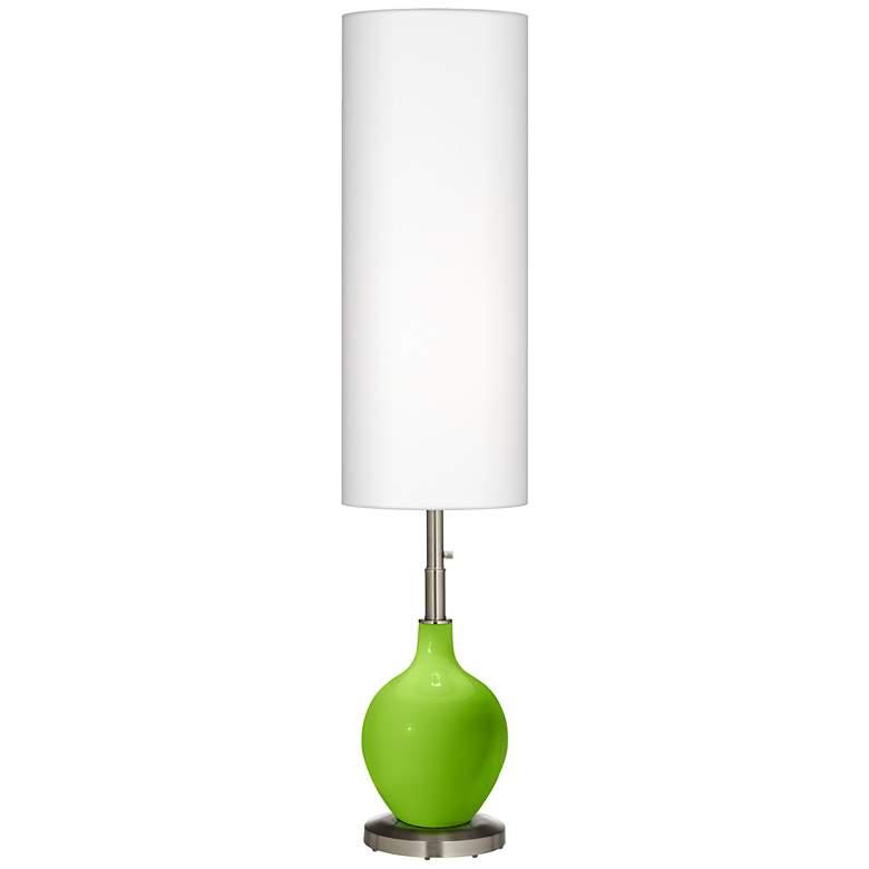 promo code 2b381 b9679 Neon Green Ovo Floor Lamp