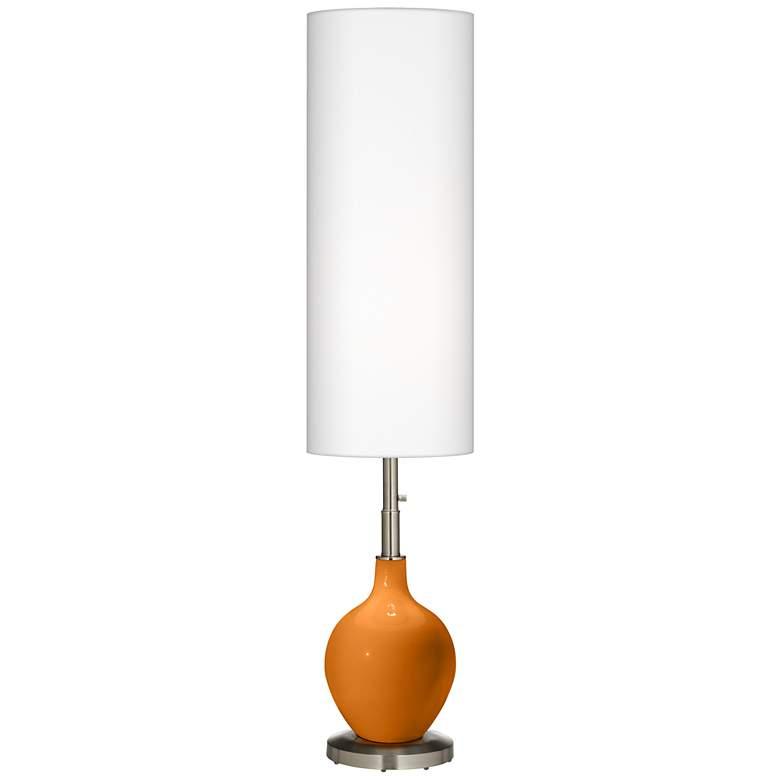 Cinnamon Spice Ovo Floor Lamp