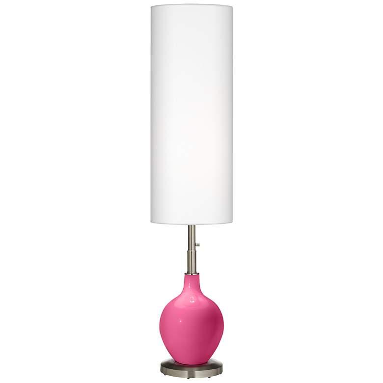 Blossom Pink Ovo Floor Lamp