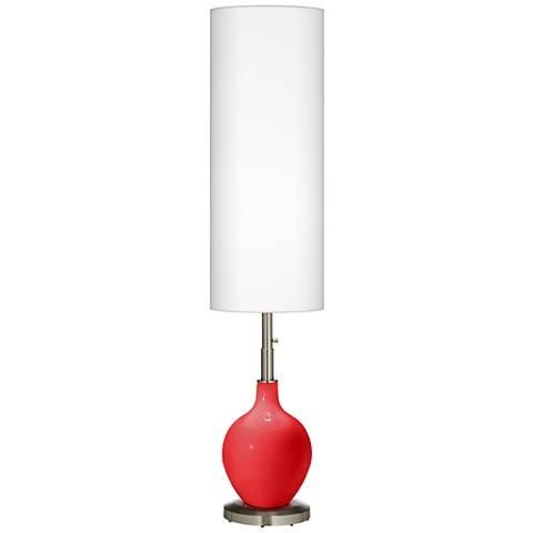 Poppy Red Ovo Floor Lamp