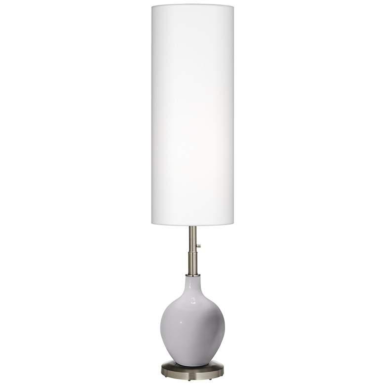 Swanky Gray Ovo Floor Lamp