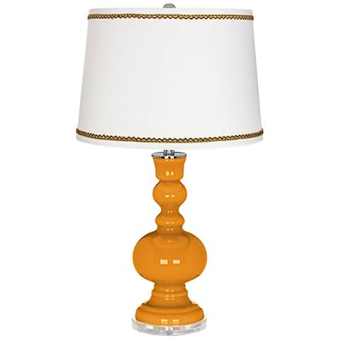 Carnival Apothecary Table Lamp with Twist Scroll Trim