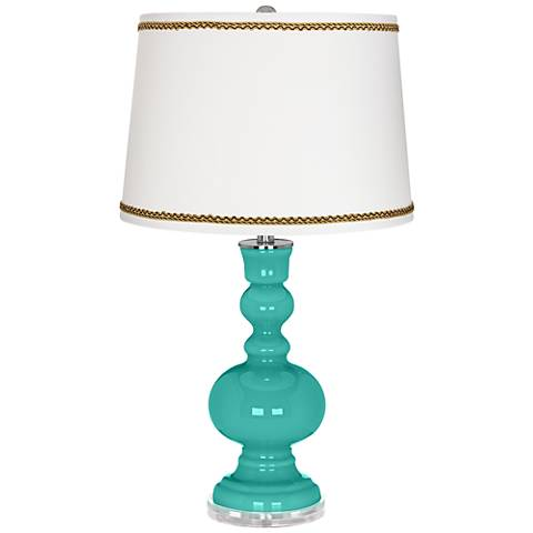 Synergy Apothecary Table Lamp with Twist Scroll Trim
