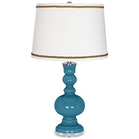 Great Falls Apothecary Table Lamp with Twist Scroll Trim