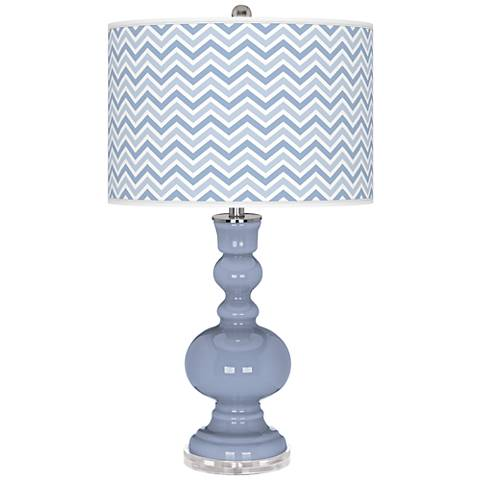 Blue Sky Narrow Zig Zag Apothecary Table Lamp