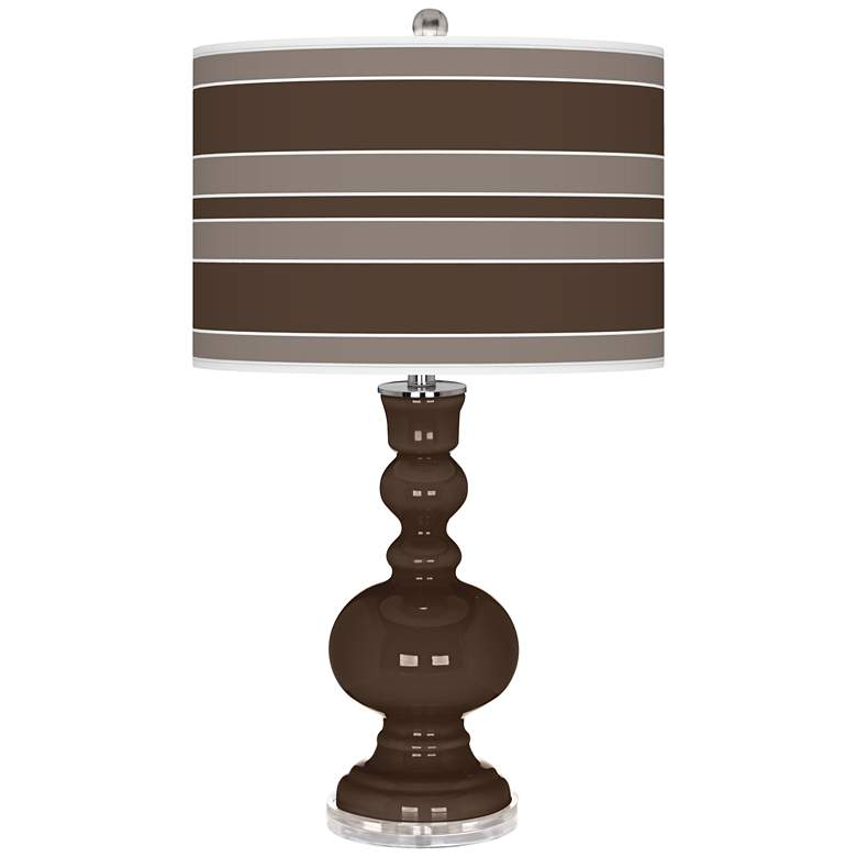 Carafe Bold Stripe Apothecary Table Lamp