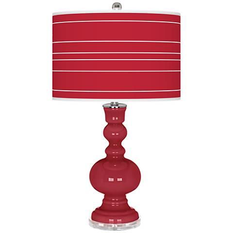 Samba Bold Stripe Apothecary Table Lamp