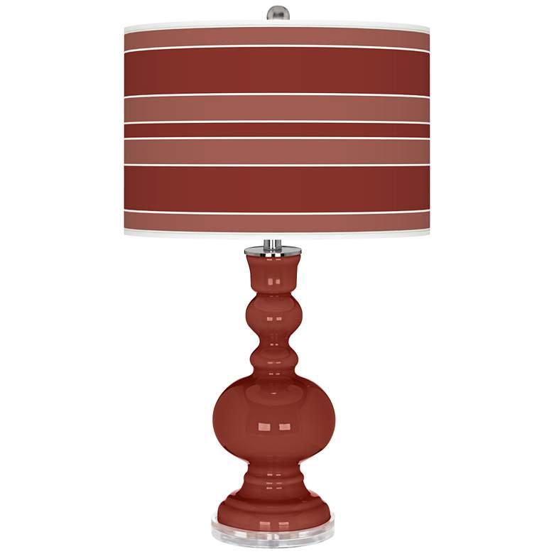 Madeira Bold Stripe Apothecary Table Lamp