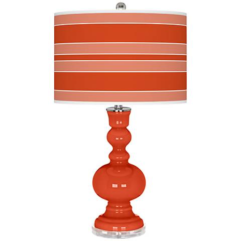 Daredevil Bold Stripe Apothecary Table Lamp