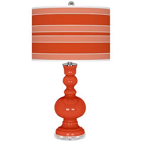 Daredevil Bold Stripe Apothecary Table Lamp