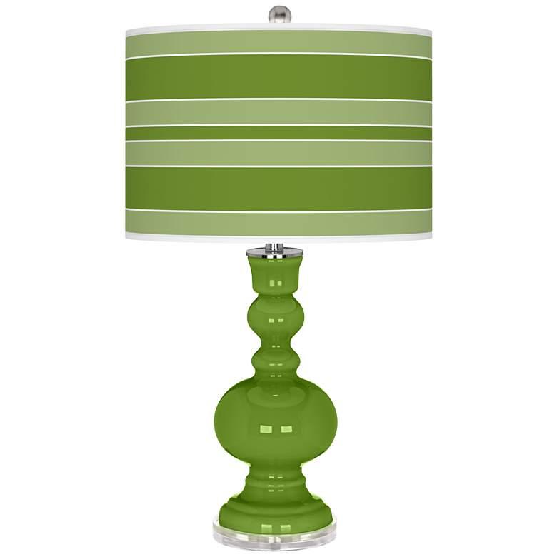 Gecko Bold Stripe Apothecary Table Lamp