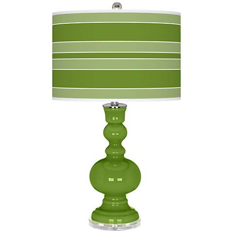 Gecko Bold Stripe Apothecary Table Lamp