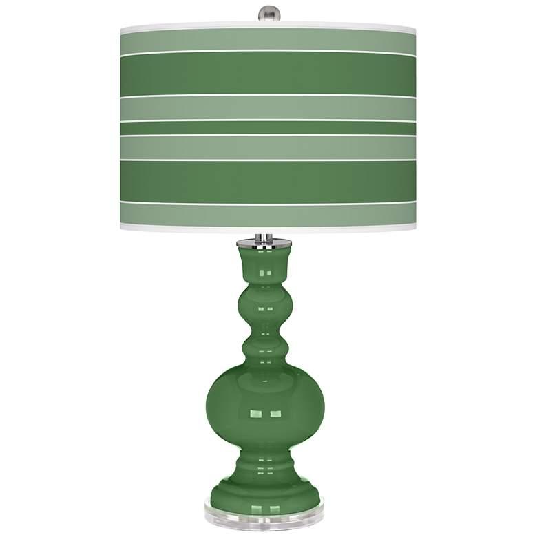 Garden Grove Bold Stripe Apothecary Table Lamp