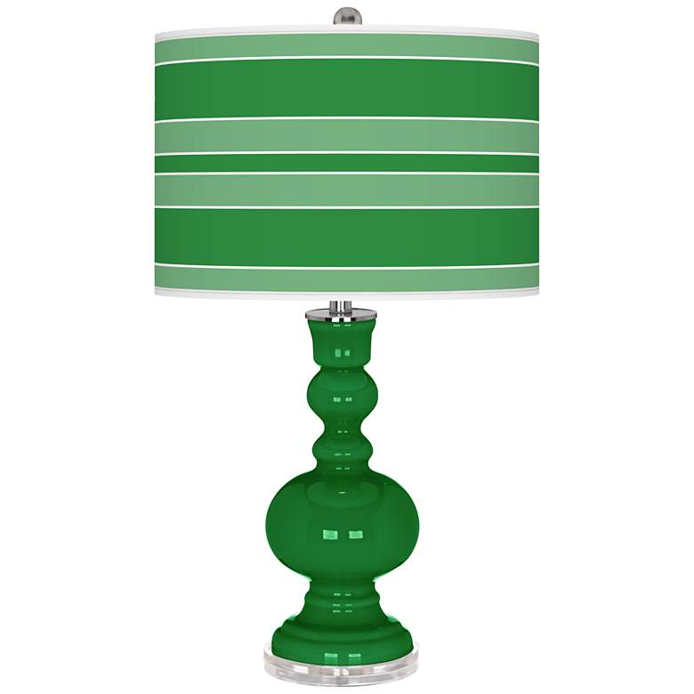Envy Bold Stripe Apothecary Table Lamp