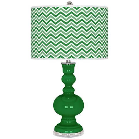 Envy Narrow Zig Zag Apothecary Table Lamp