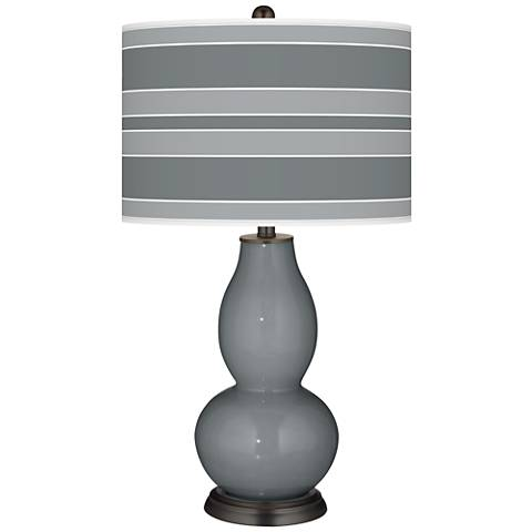 Software Bold Stripe Double Gourd Table Lamp