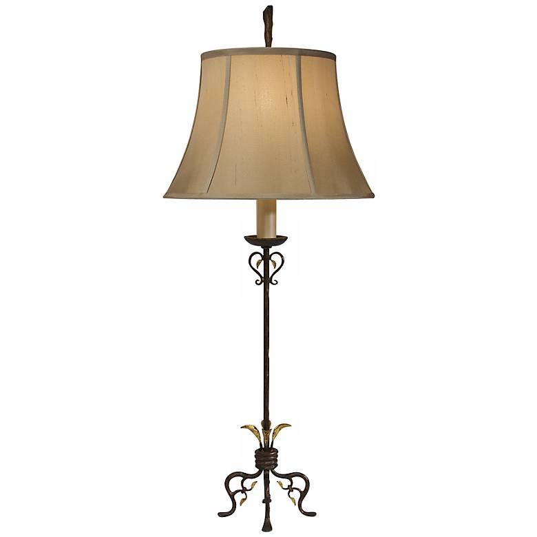 Natural Light Barcelona Metal Buffet Lamp