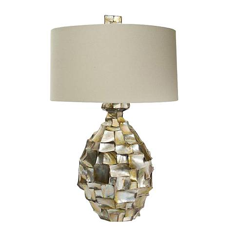 Natural Light Radica Enigma Shell Table Lamp