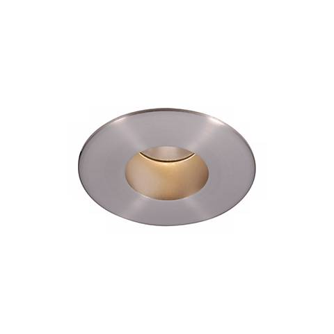 "WAC Tesla 2"" Nickel 26 Degree Round Recessed Downlight Trim"