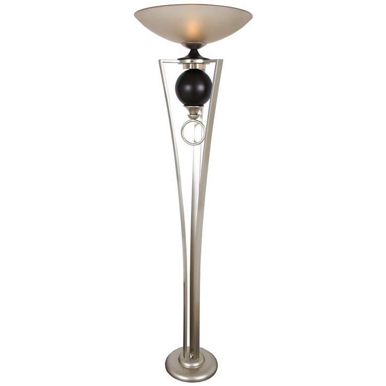 "Van Teal Romance 72"" HIgh Modern Torchiere Floor Lamp"