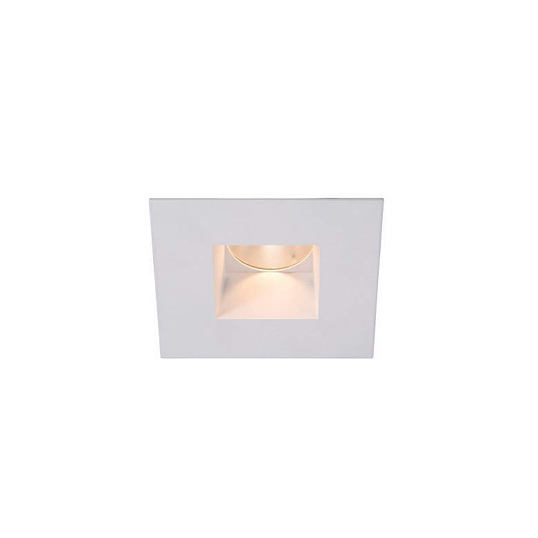 "WAC Tesla White 15 Degree LED Recessed 2"" Downlight Trim"