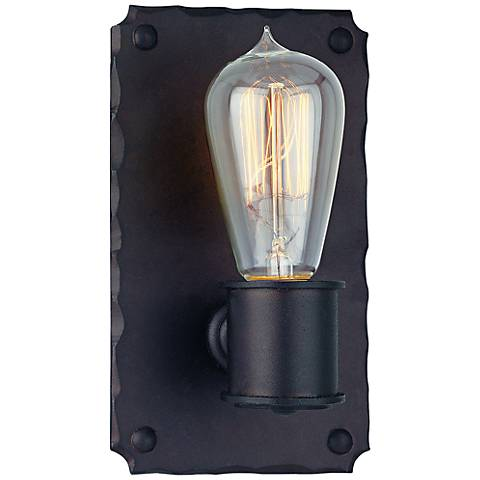 "Jackson Collection 8"" High Copper Bronze Sconce"