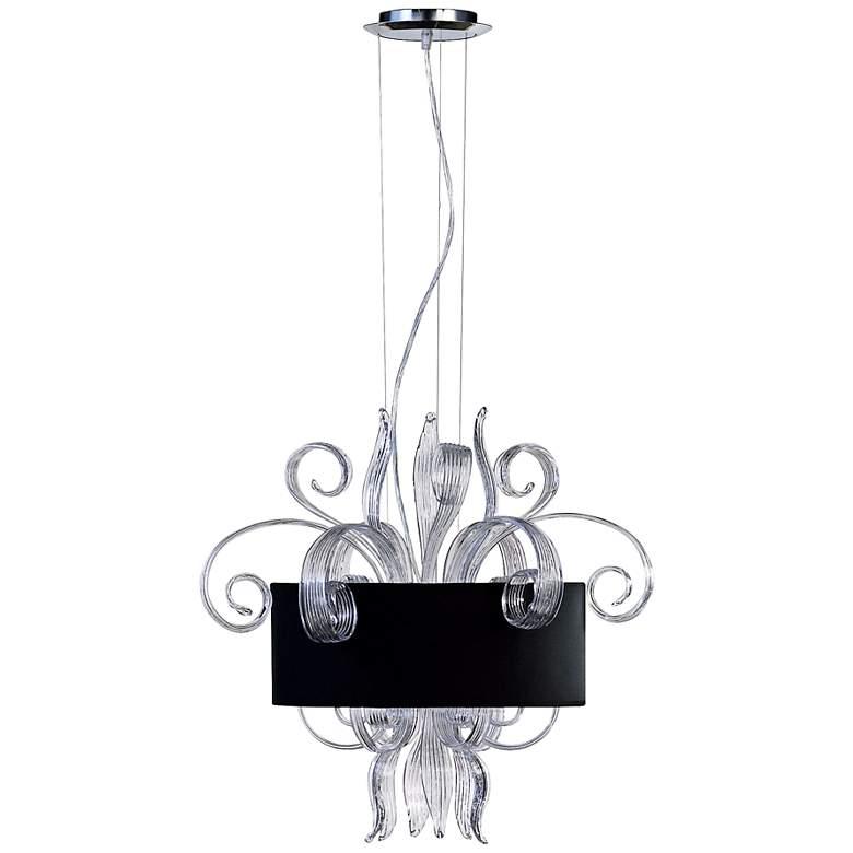 Cassini Jellyfish Clear Glass Pendant Light