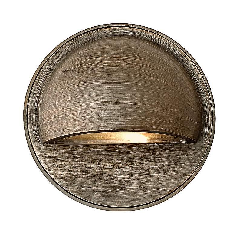Hardy Island Matte Bronze LED Step or Deck Light