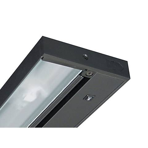 "9"" Juno Pro-LED Black Hardwired Undercabinet Light"