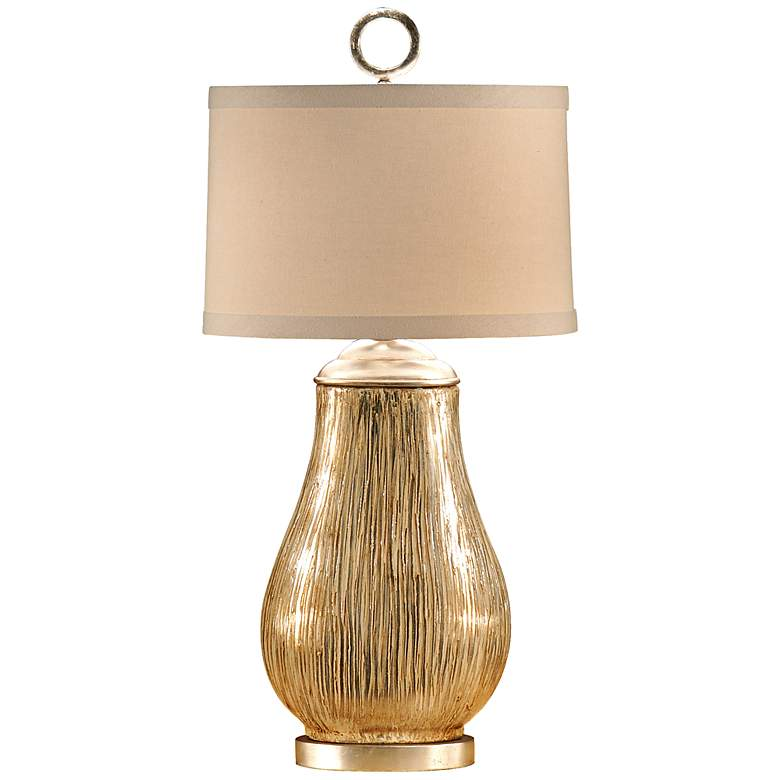 Wildwood Broom Finish Vase Table Lamp