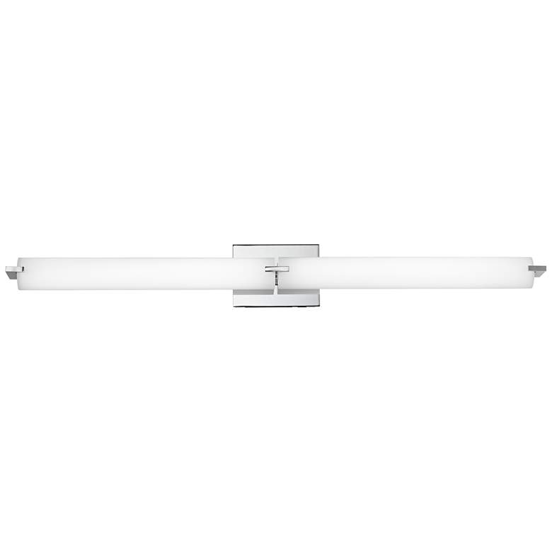"George Kovacs Chrome 39 1/2"" Wide LED Bathroom Light"