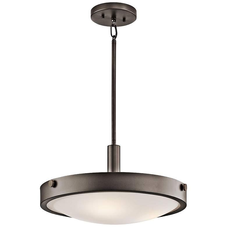 "Kichler Lytham 17 1/2"" Wide Olde Bronze Pendant Light"