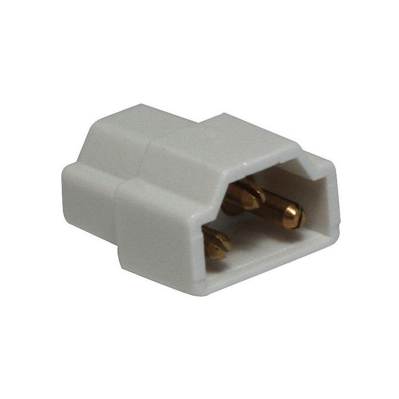 Complete White Under Cabinet Light Inline Connector
