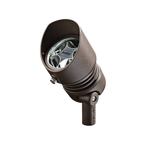 Radiax 3000K 60-Degree 6.5-Watt LED Bronze Flood Light