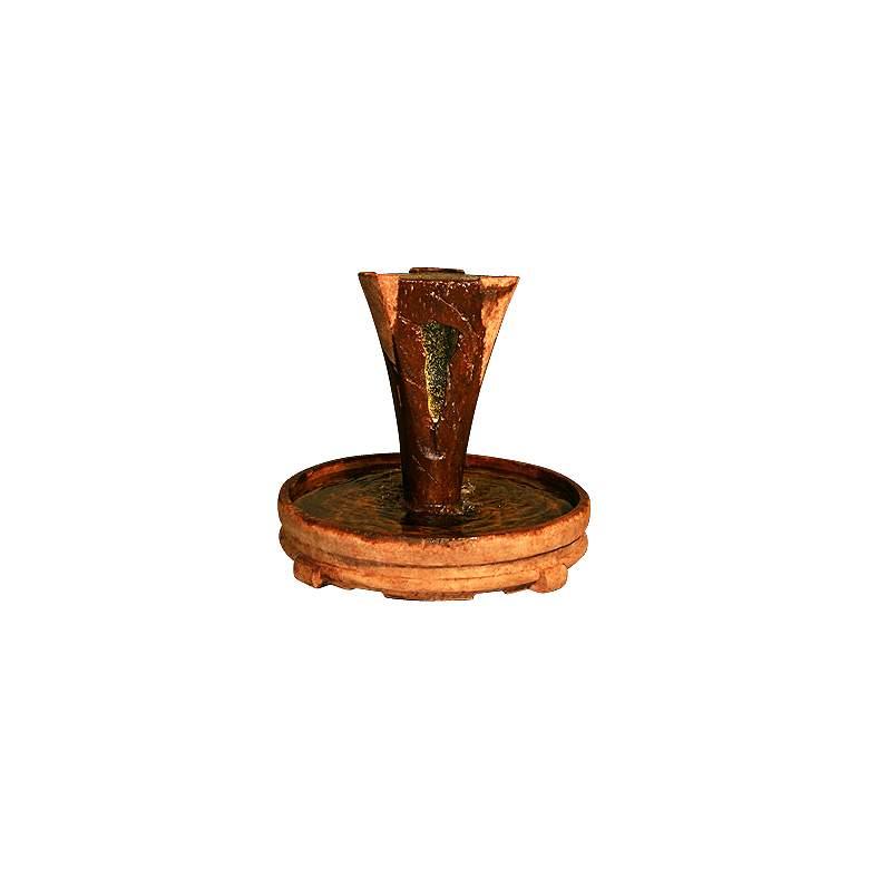 """Large Vesuvio Cast Stone 45"""" High Fountain"""