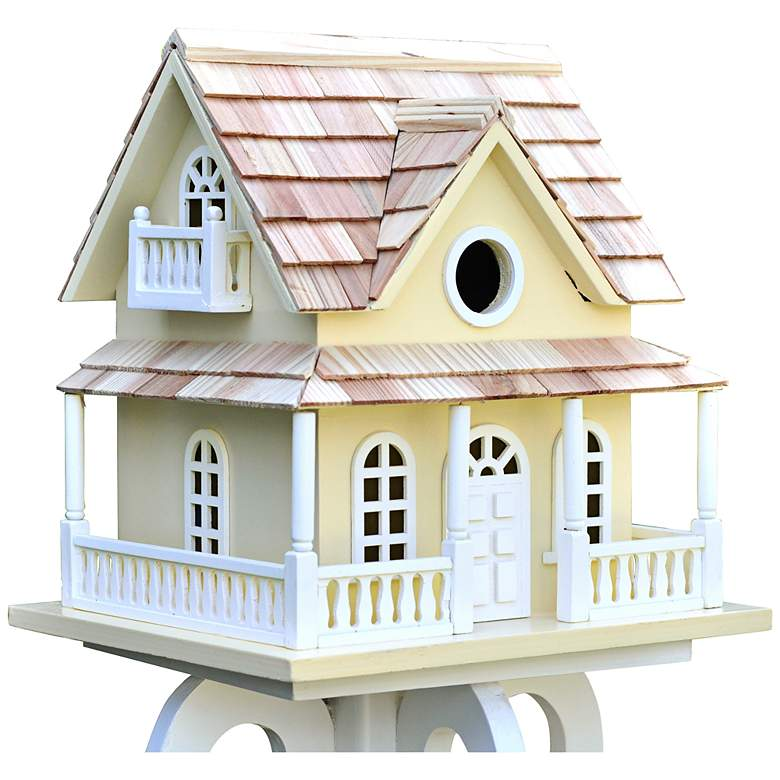Cape May Yellow Cottage Birdhouse