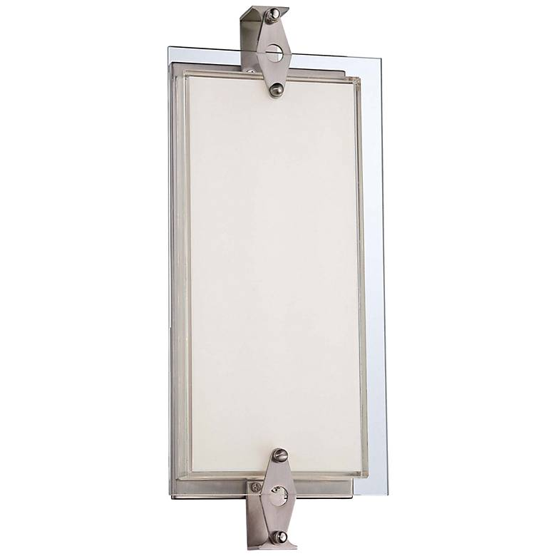 "George Kovacs Cufflink 14 3/4"" High LED Glass Wall Sconce"