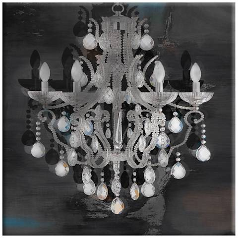 "Elegance Chandelier 36"" x 36"" Wall Art"