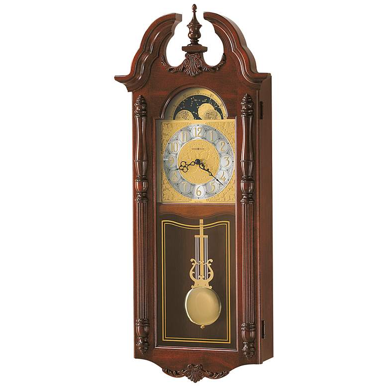 "Howard Miller Rowland 32 1/2"" High Wall Clock"