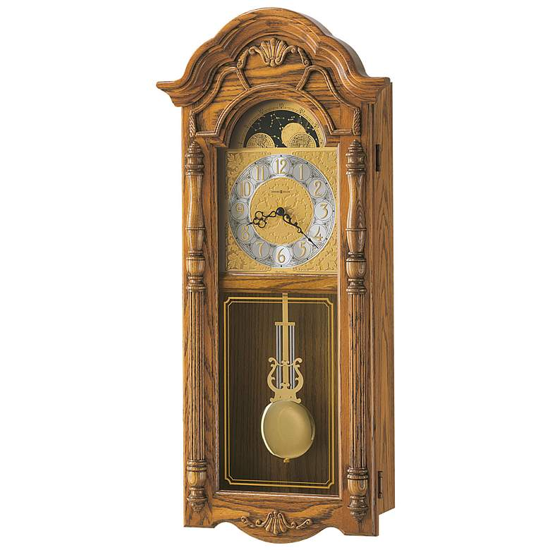 """Rothwell 30 1/2"""" High Traditional Chiming Wall Clock"""