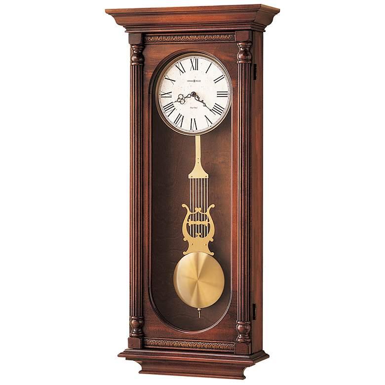 "Howard Miller Helmsley 35 1/4"" High Chiming Wall Clock"