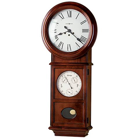 "Howard Miller Lawyer II 36"" High Wall Clock"