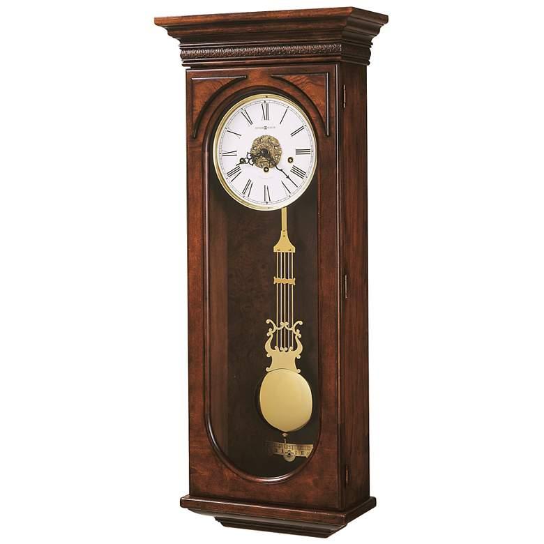 """Howard Miller Earnest 35 3/4"""" High Wall Clock"""