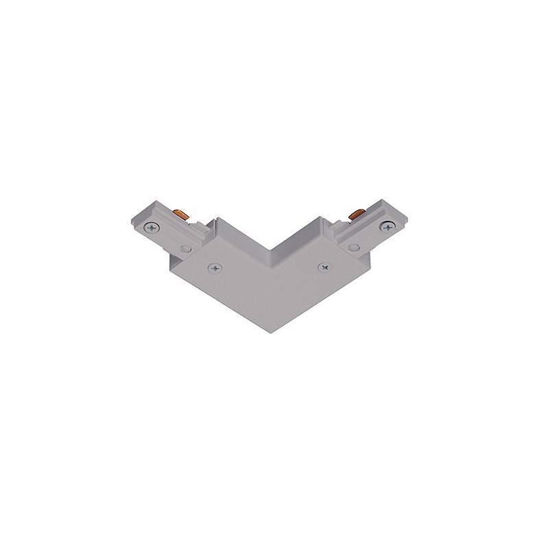 Juno Silver Adjustable L-Connector Track Joiner