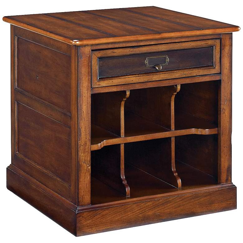 """Mercantile 25"""" Wide 1-Drawer Storage End Table"""