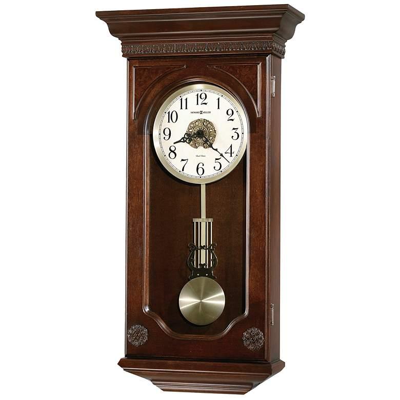 "Howard Miller Jasmine 27"" High Wall Clock"